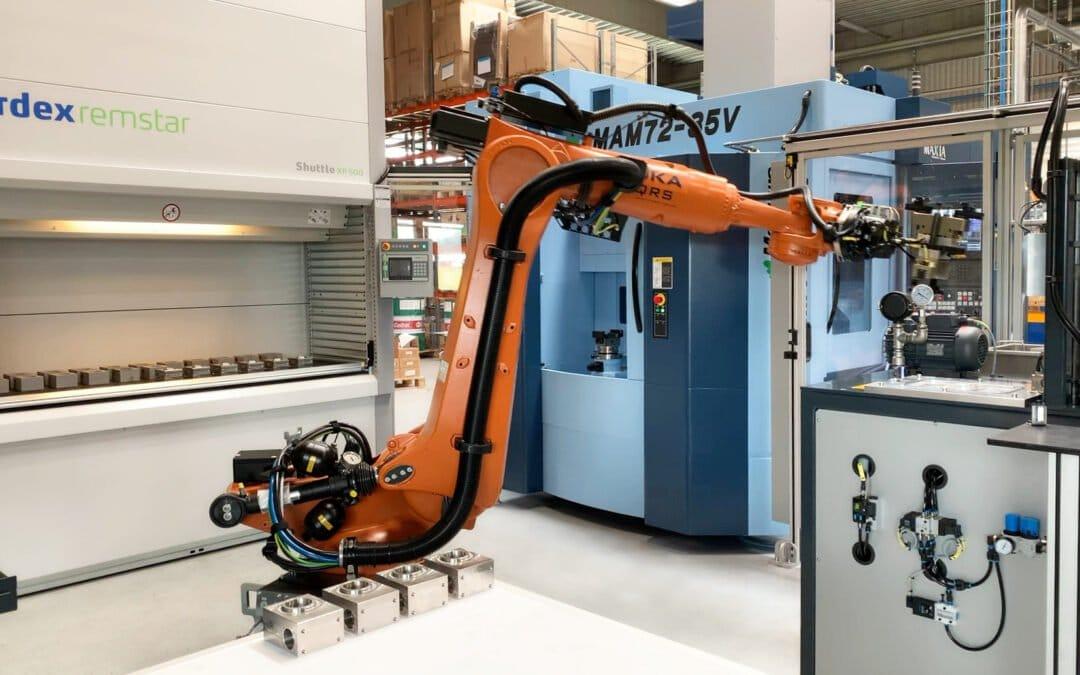 Vi søger en robot programmør til programmering og indkøring af KUKA-robotter