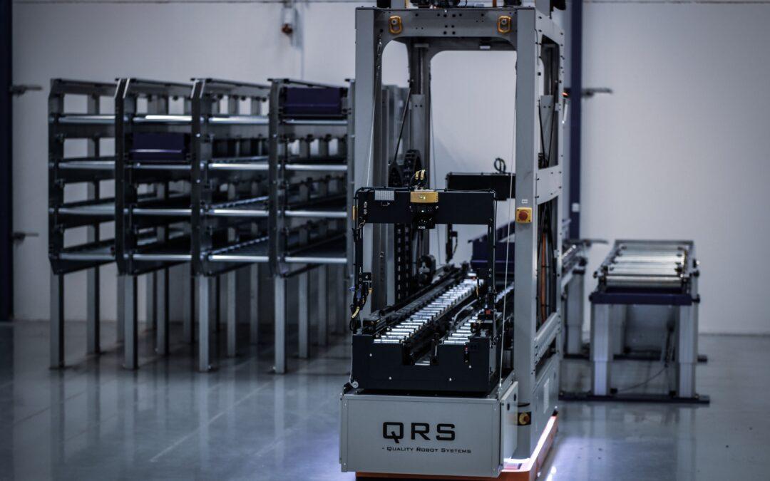 KUKA KMP 1500 med QRS udtrækssystem