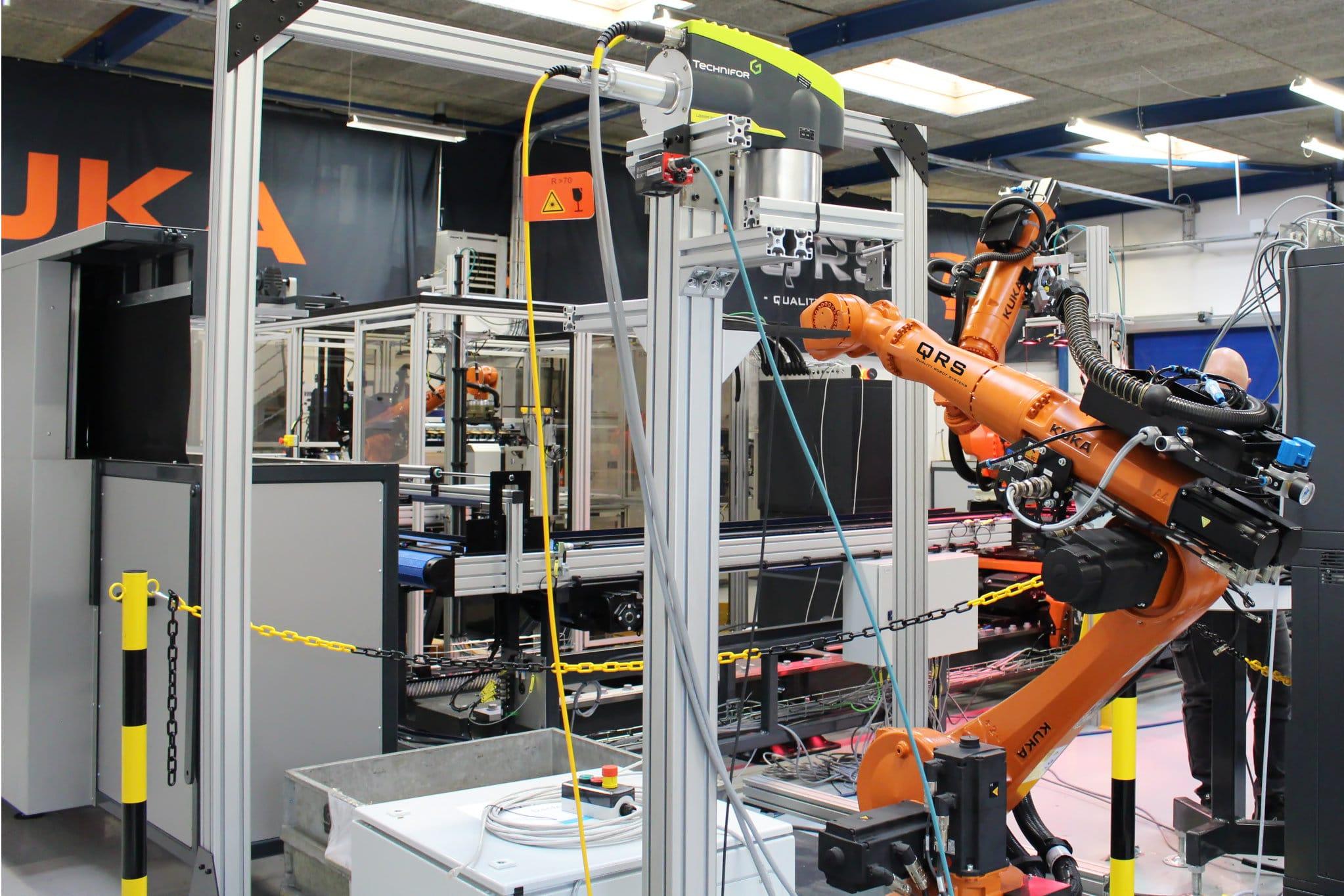 Automatiseret produktionsanlæg