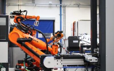 Indkøring af robotceller