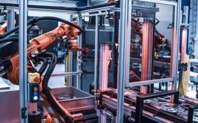 Automatiseret produktionsanlæg, der kan håndtere 81 forskellige emner