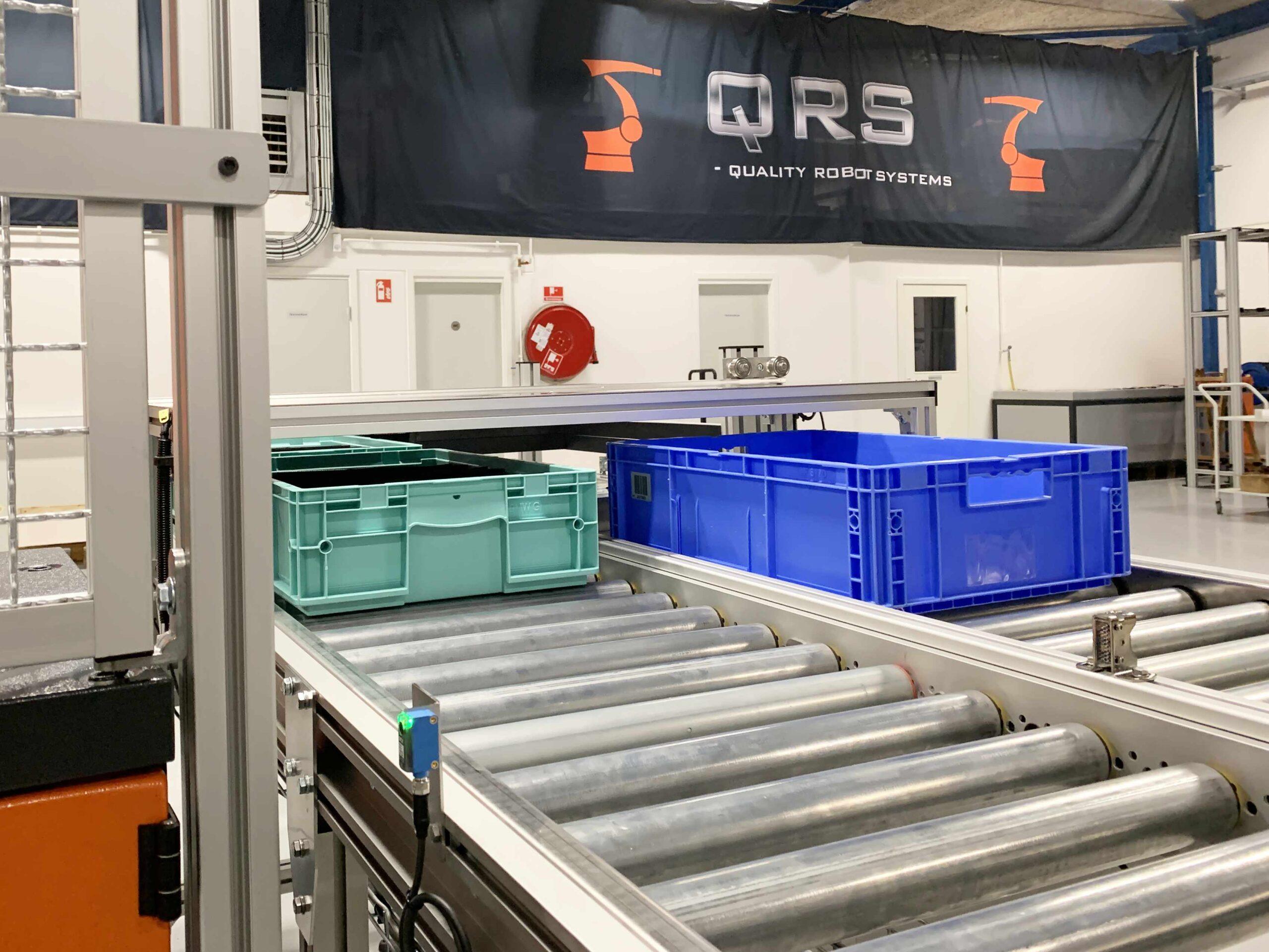 Sekvensstyrede rullebaner til QRS multicelle