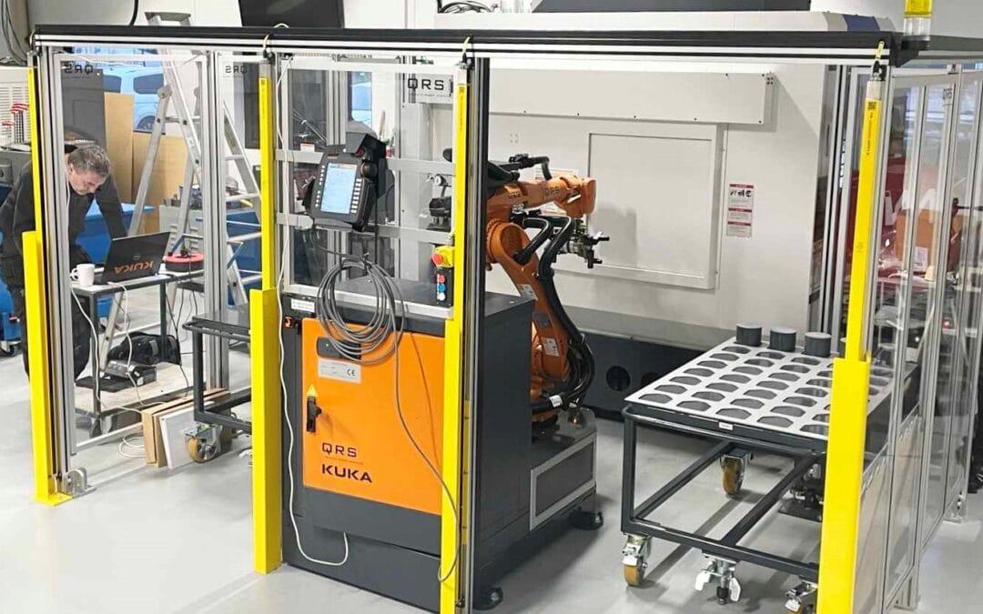 Ishøj Mekaniske har automatiseret produktionen med en SmartZell løsning fra QRS
