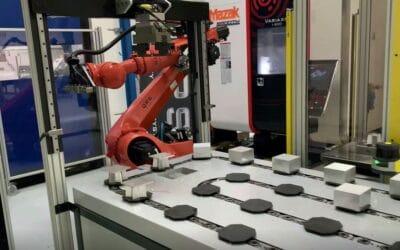 Få en uforpligtende demonstration af Robotautomatiseret FMS