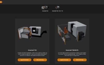 Byg din egen robotcelle med vores nye virtuelle værktøj
