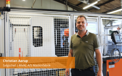 Christian Aarup fra RIVAL A/S fortæller om samarbejdet med QRS
