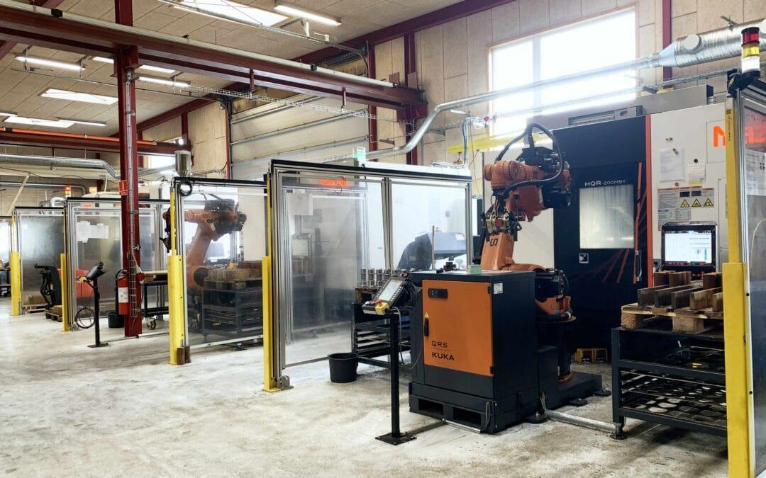 MJC Metal fordobler produktiviteten med Robotceller